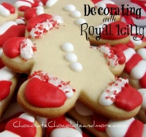 Decorating Cookies with Royal Icing-it's easier than you think!