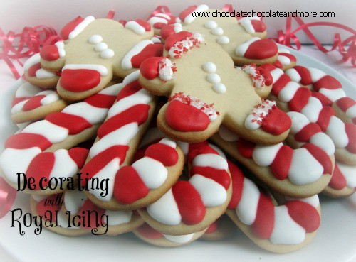 decorating cookies with royal icing chocolate chocolate
