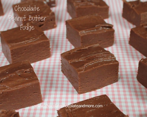 Chocolate mint fudge without condensed milk