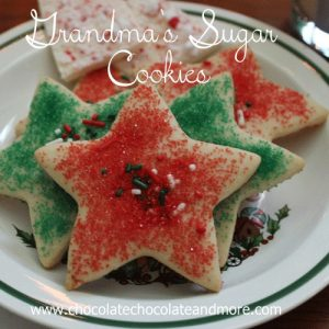 Grandma's Sugar Cookies-a Christmas Tradition.