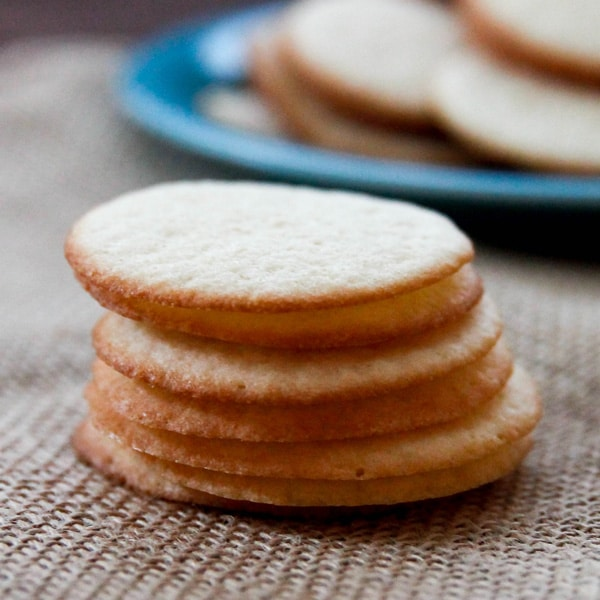Butter Wafer Cookies