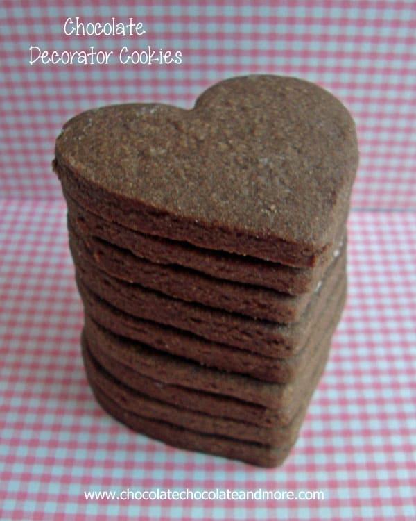 Chocolate decorator Cookies