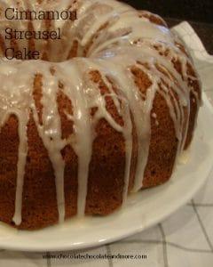 Cinnamon Streusel Cake-perfect for breakfast, snack or dessert