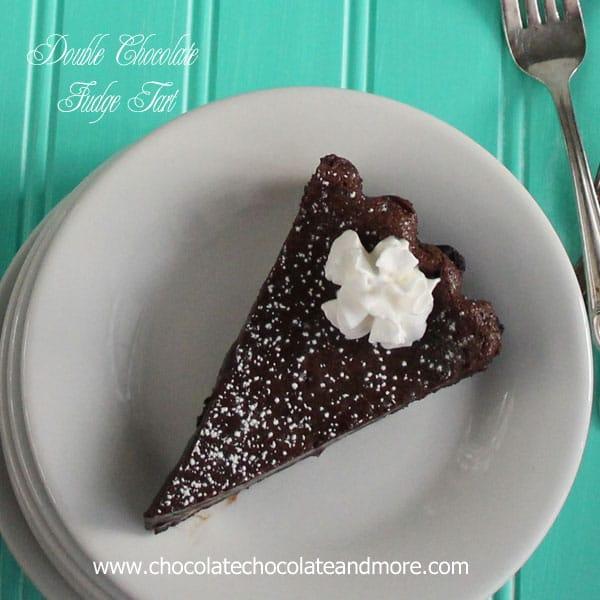 01 double chocolate fudge tart copyright chocolate chocolate and more