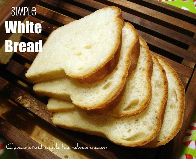 White Bread-simple and tasty