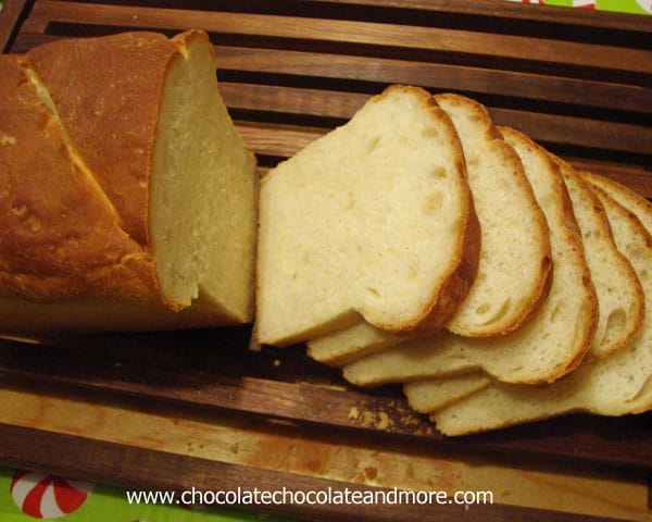 Simple and Tasty White Bread-a great beginner recipe to help you fall in love with making bread