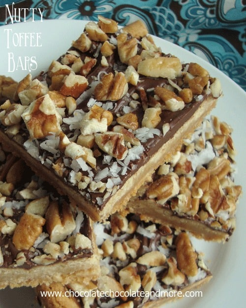 Bisquick Nutty Toffee Bars-so good you won't care that they start from ...