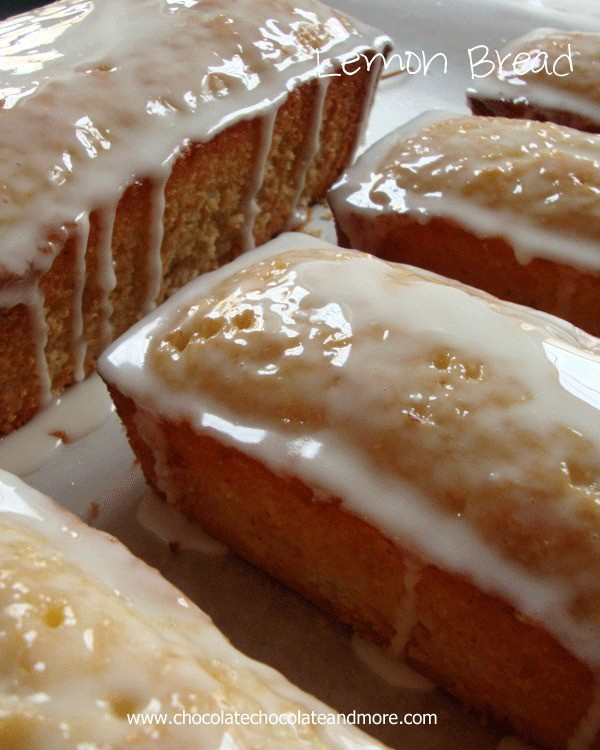 Lemon Bread-perfect with an afternoon cup of tea. Also makes a great gift!