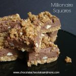 Millionaire Squares-delicious fudge filling and you won't believe what the crust is made of!