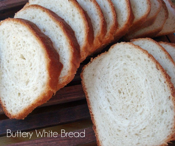 Buttery White Bread from www.ChocolateChocolateandmore.com #freshbread #yeastlove