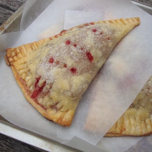 Strawberry Hand Pies from www.chocolatechocolateandmore.com