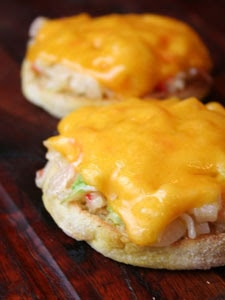Crab Salad Melt from Southern with a Twist