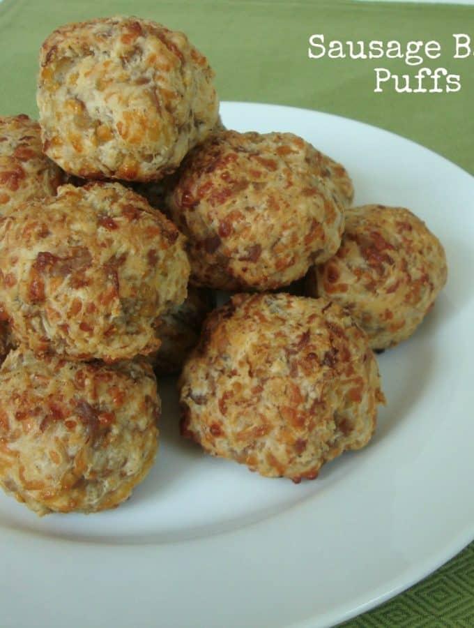 Sausage Ball Puffs