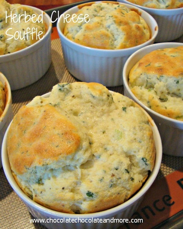 50 Easy to make Breakfast Recipes-Herbed Cheese Souffles