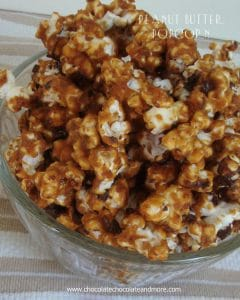 Peanut Butter Popcorn-the perfect blend of Salty and Sweet AND Peanut Butter!