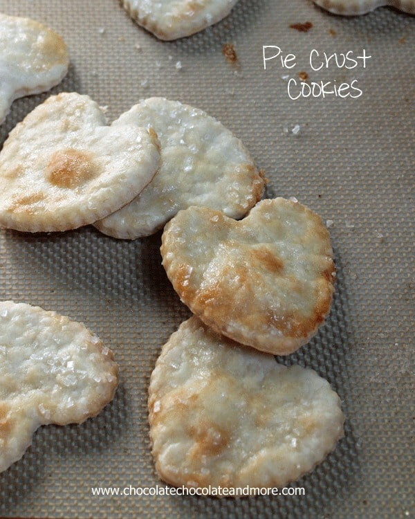 Pie Crust Cookies, when your pie crust recipe is so good it doesn't need filling!
