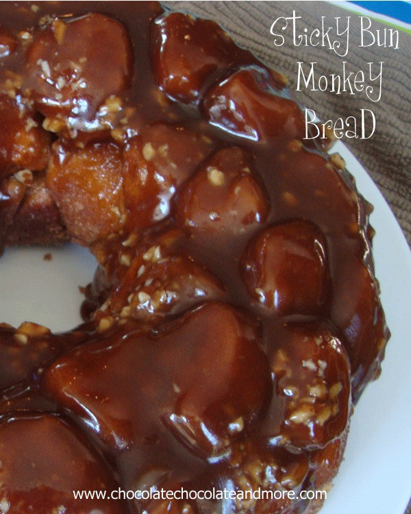 Sticky Bun Monkey Bread