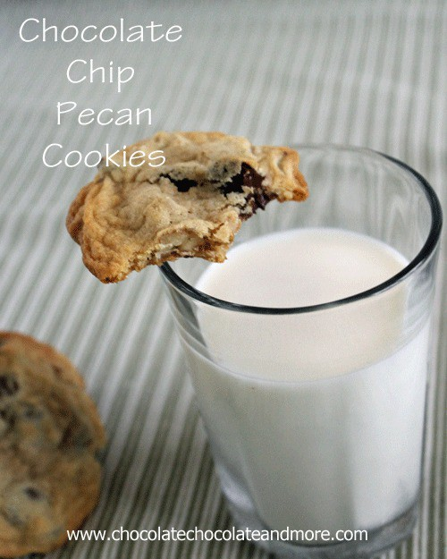 Chocolate Chip-Pecan Cookies-the best cookies you'll ever taste!