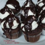 Midnight Mint Chocolate Cupcakes 12c