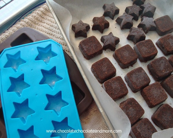 Truffle petit Fours-Anyone can make these!