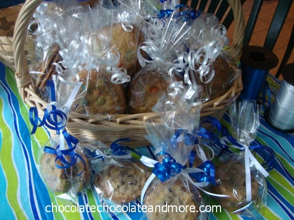Chocolate Chipe Pecan Cookies and a Bake Sale