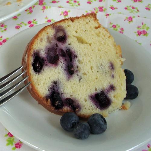 Lemon Blueberry Pound Cake Chocolate Chocolate and More!