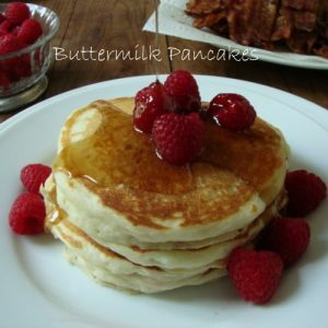 Light and Fluffy Buttermilk Pancakes
