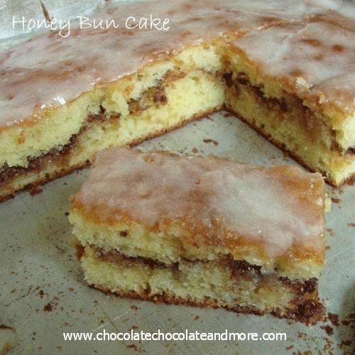 Cinnamon Buns Made With Yellow Cake Mix