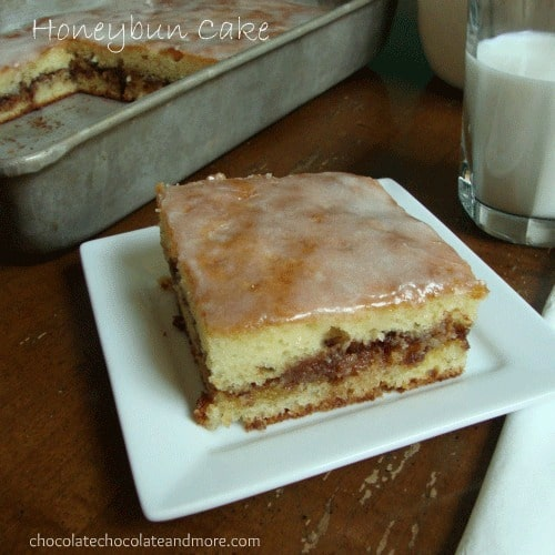 Honey Bun Cake-so much better than the snack it's named after!