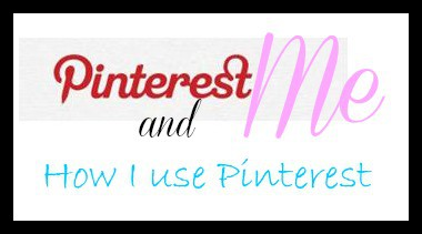 How I use Pinterest