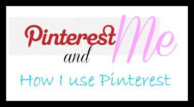 How I use Pinterest