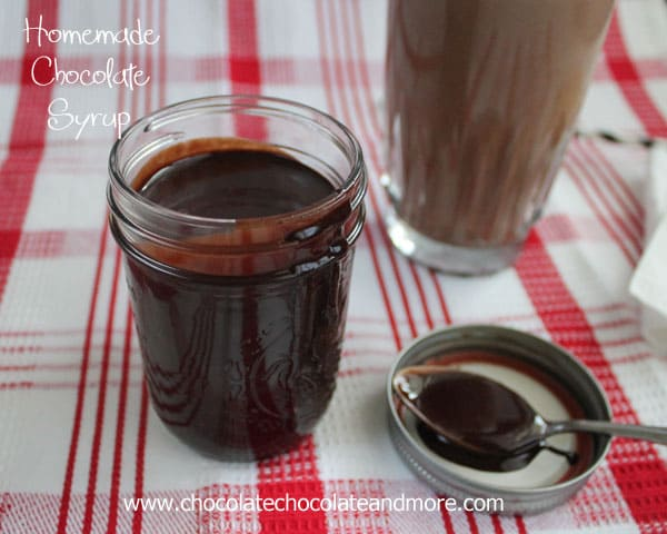 Homemade Chocolate Syrup, why buy it when making it is so easy!