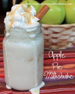 Apple Pie Milkshakes-just like Apple Pie Ala Mode! with a straw. No fork needed.