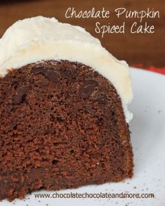 Chocolate Pumpkin Spice Cake 0315