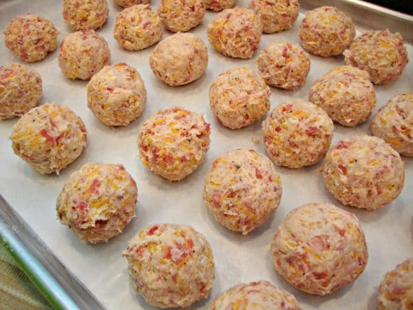 Sausage Ball Puffs-ready to bake