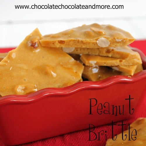 Peanut Brittle-the perfect candy for the peanut lover in your life!