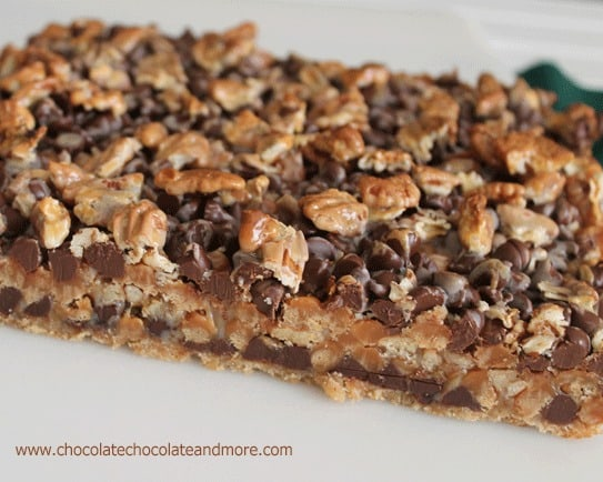 Magic Turtle Bars-Chocolate, Caramel and Pecans, come together in this ...