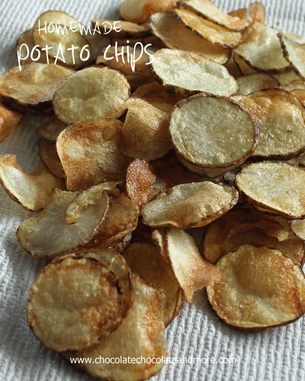 healthy snack ideas for work, Homemade Potato Chips
