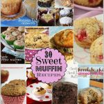Muffin Collage with words