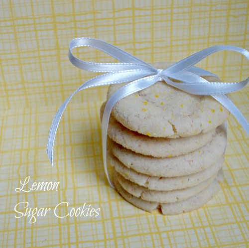 w-lemon sugar cookies