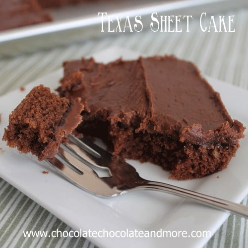 Texas Sheet Cake-so easy to make, even easier to eat!