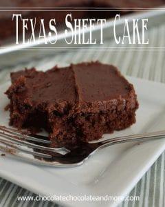 Texas Sheet Cake-so easy to make, even easier to eat!