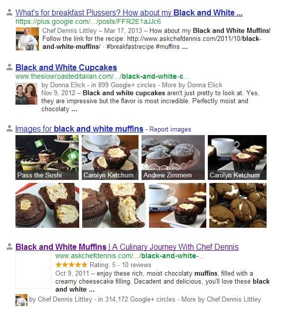 Chef Dennis bw muffins