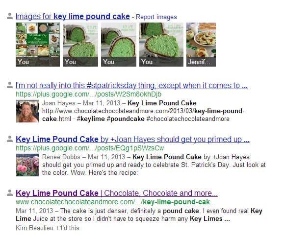Keylime poundcake