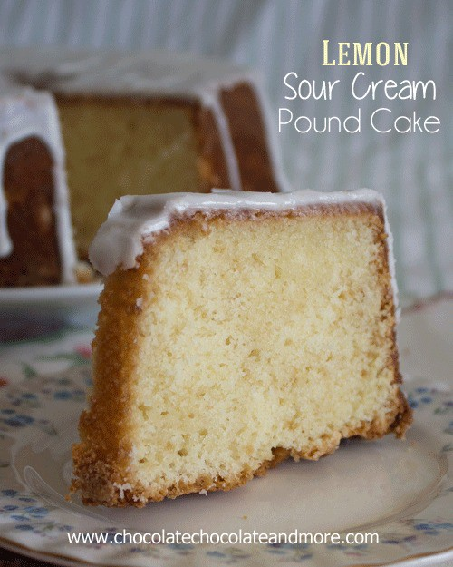 Lemon Sour Cream Pound Cake Chocolate Chocolate And More