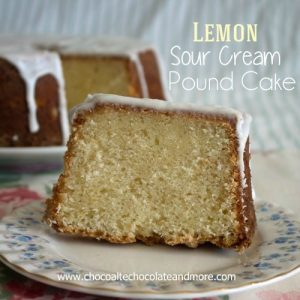 Lemon Sour Cream Pound Cake