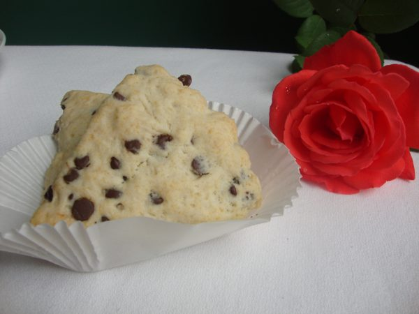 Scones with Chocolate Chips