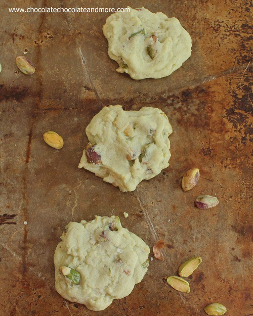 Salted Pistachio Pudding Cookies-the perfect cookie for pistachio lovers!
