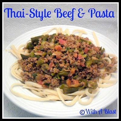 Thai-Style Beef & Pasta1
