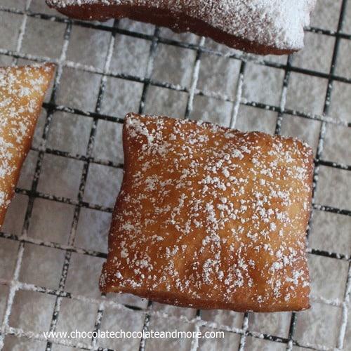 Buttermilk Beignets- a yummy, yeasty, powdered sugared drenched taste ...